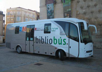 Bibliobús de Madrid