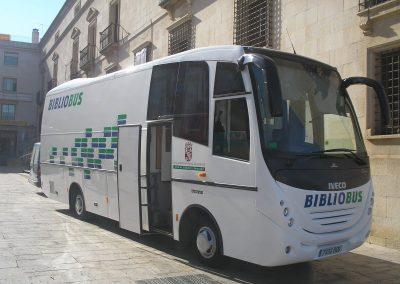 Bibliobús de Segovia