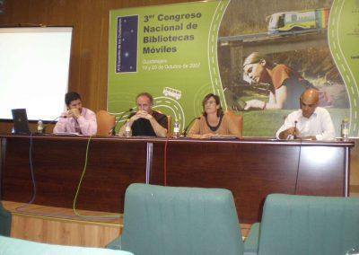 III Congreso de Bibliobuses Mesa de debate