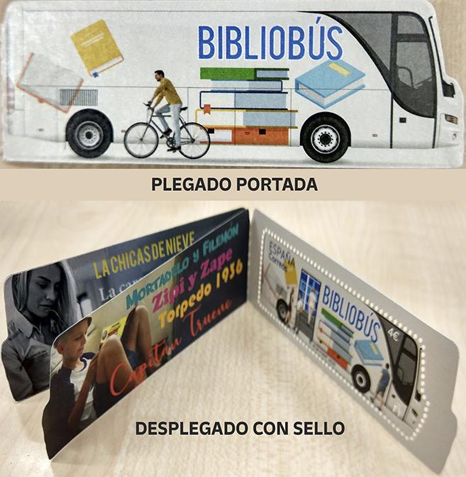 Primer sello postal español dedicado al Bilbiobús